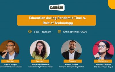Education during Pandemic time and the Role of Technology